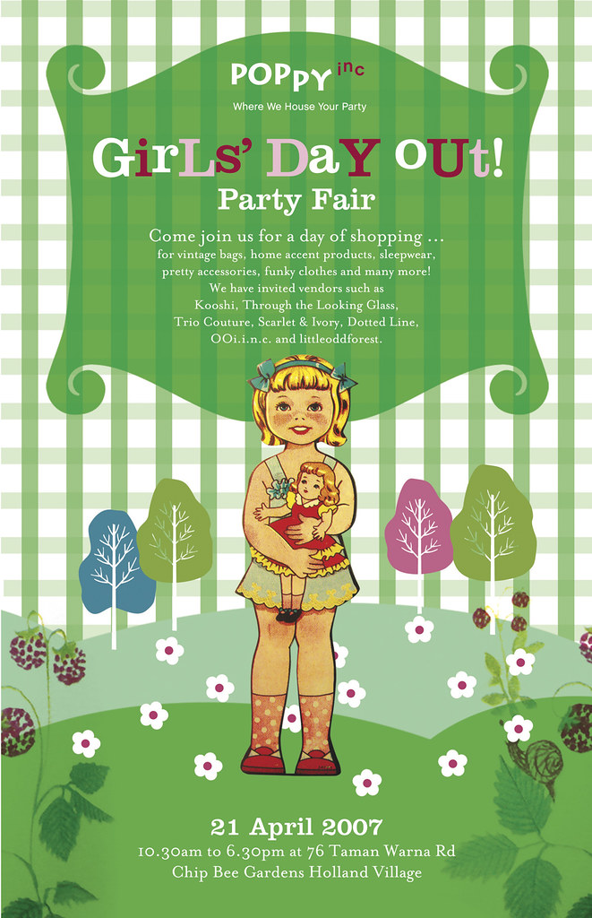 girls' day out party fair
