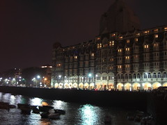 The Old Taj Mahal Hotel from Gatway of India
