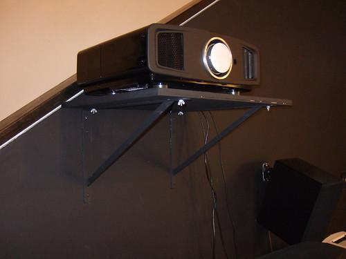 Back Wall Shelf Mount Projector