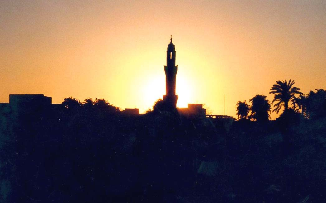 SonnenuntergangMinarett