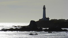 Horizontal Lighthouse (PappyV) Tags: lighthouse northerncalifornia pigeonpoint hwy1 californiacoast