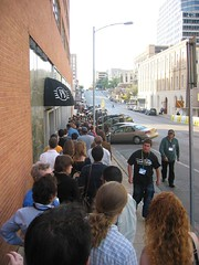 A Sea of People Wait for Knocked Up by Matt Smath on Flickr