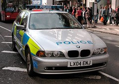 London police 2004 BMW 530D Touring (Michiel2005) Tags: auto london car police bmw touring 530d
