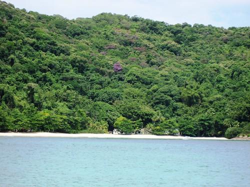 la espectacular Praia de Dois Ríos, Ilha Grande