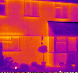 Thermal Camera image of house von Martin Tod bei flickr unter cc-Lizenz