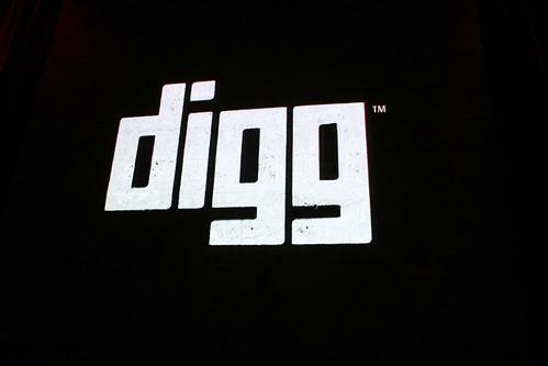 Digg Million User Celebration
