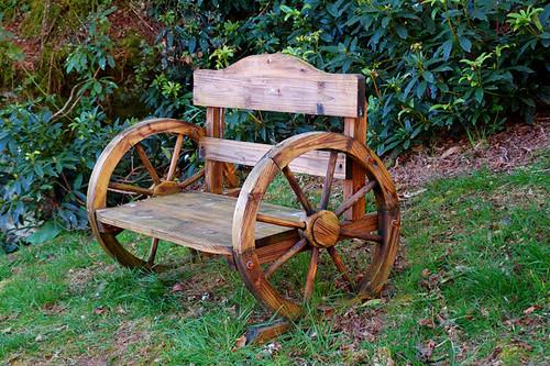 Decorative Garden Bench