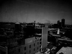 Chelsea (SuperEvilBrian) Tags: above nyc west window phonecam chelsea manhattan lg dirtywindow 10thfloor thecitythatneversleeps c2000 508w26st brianmcgloinallrightsreservednousageallowedincludingcopyingorsharingwithoutwrittenpermission