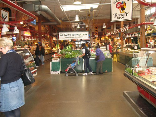 Fresh market at Granville Island