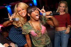 Danity Kane (Bucky Skeel) Tags: girls party chicago hot sexy sol beer bar club night drunk laughing fun happy dance concert dj drink shots expression lol christina joy level nightlife kane screaming loud phun screamingoutloud laughingoutloud insaneindamembrane danity extremeexpression