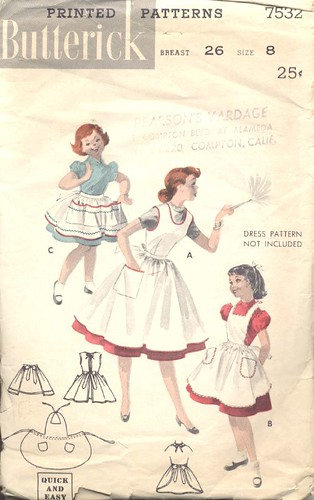 Girl's and Teen's Quick and Easy Apron