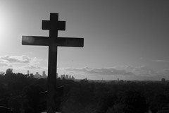 Looking towards the city from Toowong Cemetery