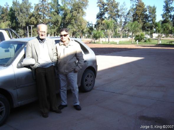 Con Don Ricardo King