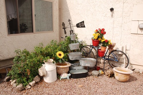 Bikes in the Garden - Mesa, AZ