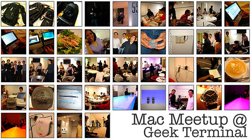mac meetup @ geek terminal
