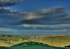 view toward the central valley (Marc Crumpler (Ilikethenight)) Tags: landscape f30 finepix fujifilm eastbay livermore trivalley alamedacounty altamont windturbines ebrpd blueribbonwinner eastbayregionalparkdistrict fujipix brushypeak fujif30 sfchronicle96hours aplusphoto holidaysvacanzeurlaub wowiekazowie diamondclassphotographer flickrdiamond bratanesque
