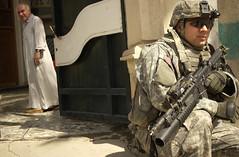 iraq (The U.S. Army) Tags: soldier iraq security soldiers wwwarmymil usarmyiraq5baghdadameriyah