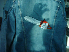 chainsaw (Michelle Foocault) Tags: chainsaw jacket