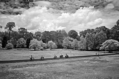 Angkor in B&W  (hk_traveller) Tags: travel bw white black canon ir photo asia cambodia flickr explore turbo filter siem reap thom infrared g1 rps angkor  canong1 093    top500   turbophoto