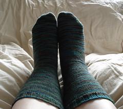 Stockinette socks