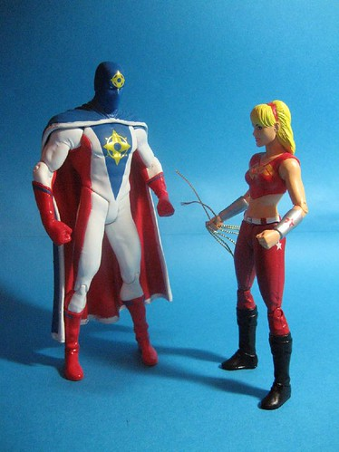 Supernova and Wondergirl