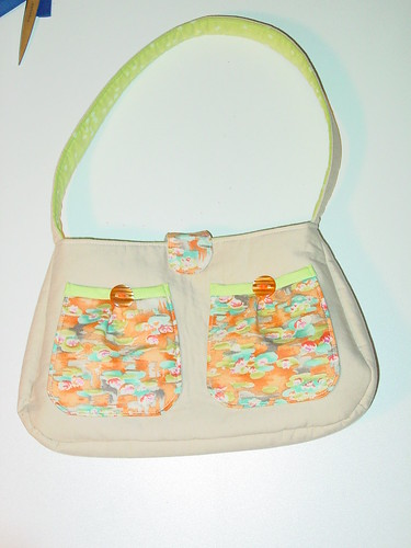 Springtime Pond Fiona Purse