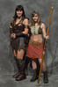 Xena and Gabrielle couple costume