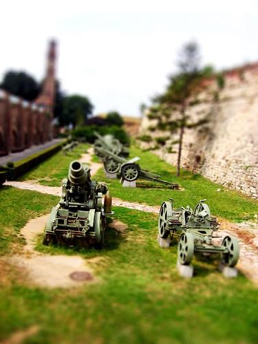 Miniature Models of old artillery