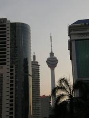 14.從KLCC眺望吉隆坡塔