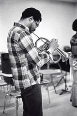 Woosdy Shaw - flugelhorn (Tom Marcello) Tags: photography jazz flugelhorn jazzmusicians woodyshaw jazzplayers jazzphotos jazzphotography jazzphotographs tommarcello