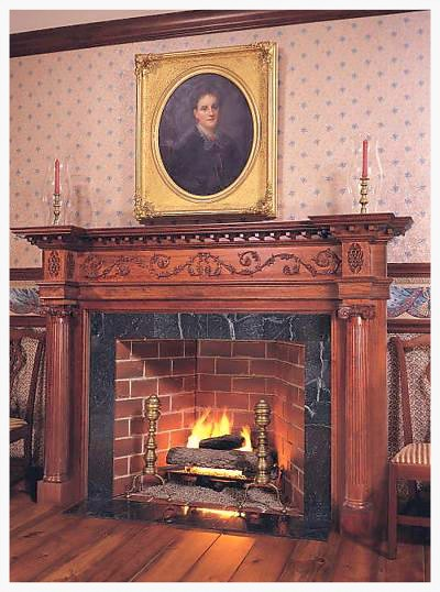 Mantles of Yesteryear Antique Reproduction Mantle