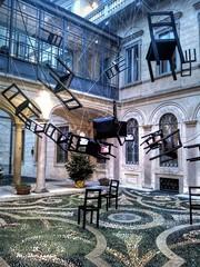 Milano mostra d'arte (Maurizio Borsatto) Tags: milano mostra arte design sedia sedie chair chaise stuhl silla стул milan italy art