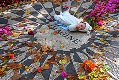 DSC_4220_Edit (larrycloss) Tags: newyork newyorkcity ny nyc centralpark imagine allyouneedislove johnlennon thebeatles imaginemosaic strawberryfields nikon nikond40x d40x baby