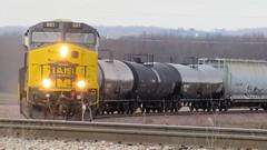 IAIS 501 (Clark Westfield) Tags: locomotive train iais501 iowa yokum winter rail railfan amana colonies