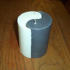 yin yang (Crafty dragon) Tags: candle etsy yinyang