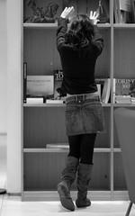 Turin, Mon Amour (Knrad) Tags: blackandwhite silhouette torino hands mani books libri turin biancoenero notinpose corradogiulietti