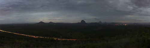 Glass House Mountains Dusk