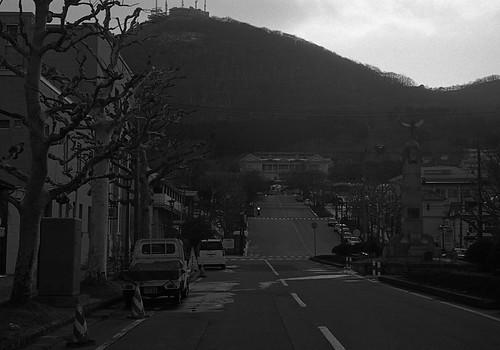 函館山の麓