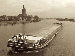 Daya (andzwe) Tags: holland netherlands dutch photography fotografie photos pics  hasselt nederland fotos mostinteresting nederlands overijssel freighter dutchlandscape daya cargoship binnenvaart binnenvaartschip interestingness43 i500 outstandingshots abigfave nederlandslandschap andzwe andzwe groteofsintstephanuskerk