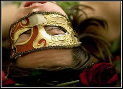 bow out (rachel sian) Tags: roses selfportrait me female theatre masks drama rach curtaincall