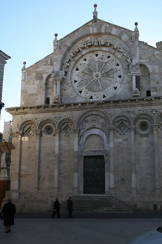 The Facade of Troia's Cathedral