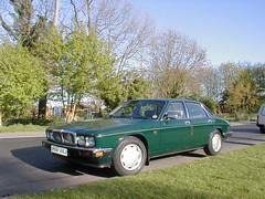 P1010017 (saabfan) Tags: park green sport racing eastbourne british 1991 jaguar hampden xj xj6 6cyl xj40 6cylinder 200hp 200bhp