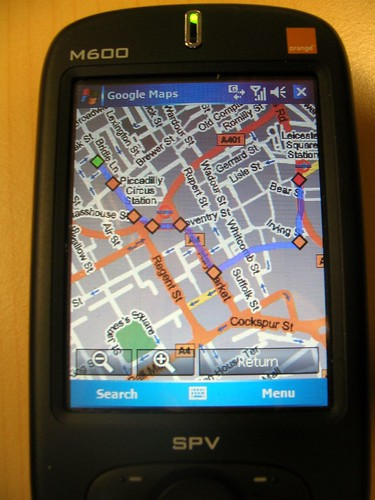 Google Maps on Windows Mobile