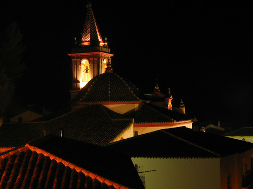 Nighttime in the village