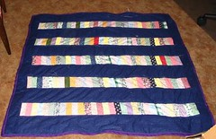 Chinese Coin Quilt Finished