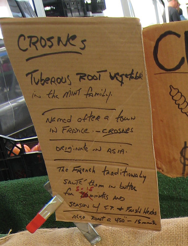 About crosnes