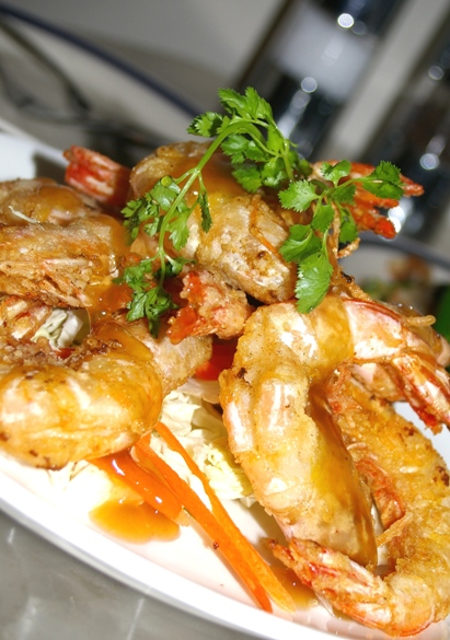 Peppery Salt Prawn