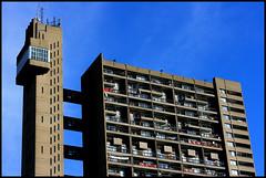 Brutalist Trellick Tower (edwardkb) Tags: building london architecture skyscraper trellicktower brutalist futurist 50mmlens ruvjet canoneos400d aplusphoto edwardbarnieh