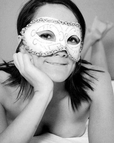 Masked nude 2