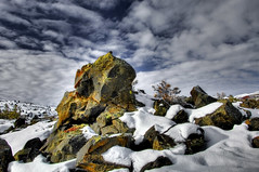 Craters of the Moon (James Neeley) Tags: snow monument lava nikon d2x craters explore national hdr cratersofthemoon naturesfinest interestingnesstop10 5xp 25faves jamesneeley